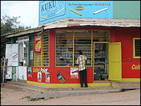 A shop in Kigoma