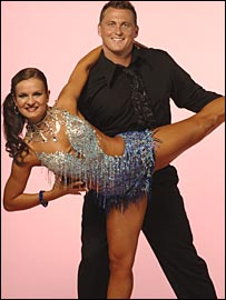 Gough and his dance partner Lilia Kopylova