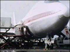 TWA aircraft