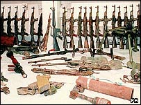 IRA weapons