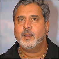 United Breweries chairman Vijay Mallya