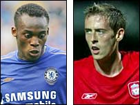 Michael Essien (left) and Peter Crouch will hope to have an impact