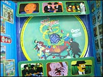 Tintin video-CD case