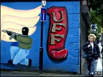 Loyalist mural Sandy Row