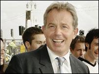 Tony Blair in Brighton