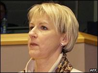 Vice-President of the European Commission, Margot Wallstroem