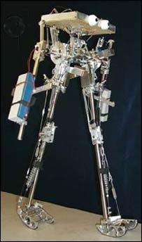 Robot walker (Cornell Uni)