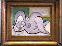 Picasso's Nude Before a Mirror