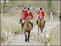 Fox hunters