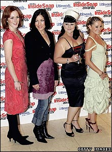 Laura Rogers, Liz May Brice, Victoria Bush and Nicola Stapleton
