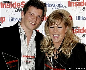 Nigel Harman and Letitia Dean