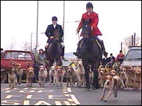Llangeinor Hunt (library shot)