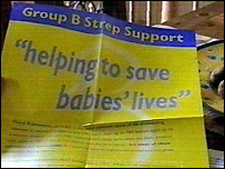 Group B Strep Support campaign poster