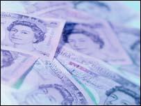 UK bank notes, BBC
