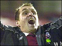 Brentford boss Martin Allen