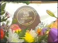 Ged Walker memorial