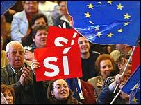 Campaña por el sí en España