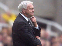 Former Newcastle manager Sir Bobby Robson