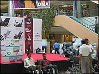 Shopping mall in Mumbai