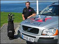Charity golfer David Sullivan