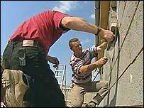 Building workers