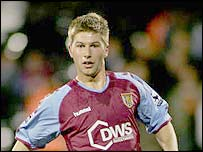 Aston Villa midfielder Thomas Hitzlsperger