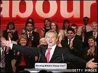 Tony Blair, during his speech in Brighton