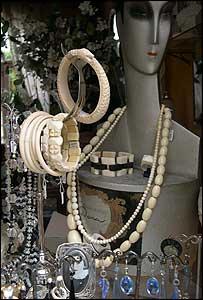 Shop window in Paris (Copyright Daniel Stiles)