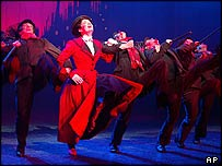 Laura Michelle Kelly in Mary Poppins