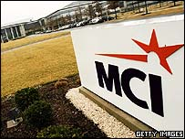 MCI headquarters in Ashburn, Virginia.