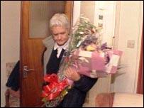 Sylvia Hardy returns home
