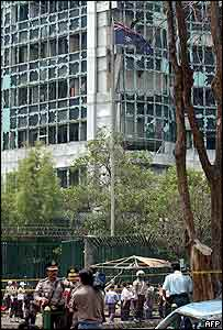 Australian embassy bombing in Jakarta, November 2004