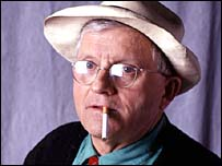 David Hockney smoking