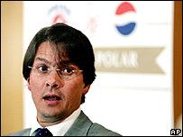 Lorenzo Mendoza, presidente de Empresas Polar