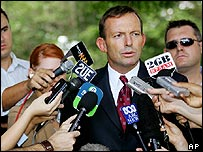Health Minister Tony Abbott