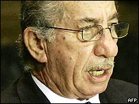 Cyprus President Tassos Papadopoulos