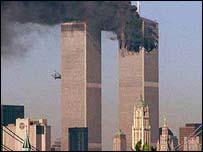 Atentado contra las Torres Gemelas, Nueva York, 11 de septiembre de 2001