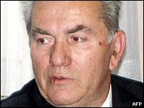 Retired Bosnian Serb general Milan Gvero
