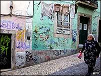 Lisbon's Bario Alto quarter