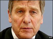 German economics minister Wolfgang Clement