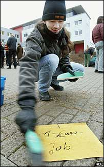 Protester against