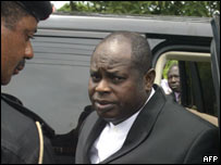 Bayelsa State Governor Diepreye Alamieyeseigha