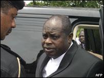 Bayelsa State Governor Diepreye Alamieyeseigha