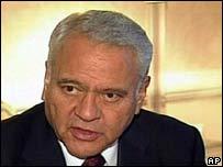 El ex presidente boliviano Gonzalo Sánchez de Lozada