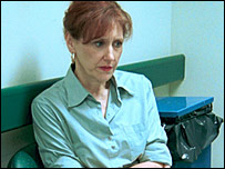 Anita Dobson on Holby City