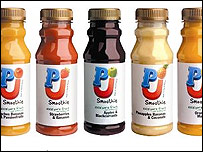 Smoothie bottles