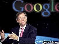 Eric Schmidt, Google chief executive