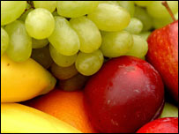 Fruit is on the plate of all sportsmen and women