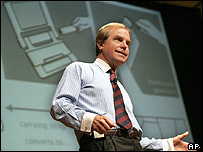 Image of Professor Nicholas Negroponte 