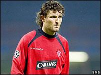 Rangers goalkeeper Ronald Waterreus